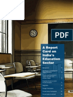 A Report Card on India's Education Sector