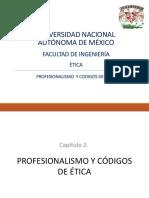 Profesionalismo y Códigos de Ética Expo