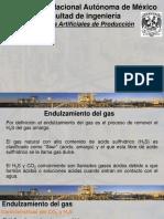 Proceso de Endulzamiento Del Gas