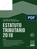 Estatuto Tributario 2018 II