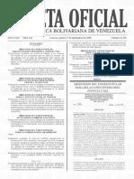 Gaceta Oficial N° 41.491