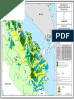 Peta Restorasi Gambut Riau (BRG)