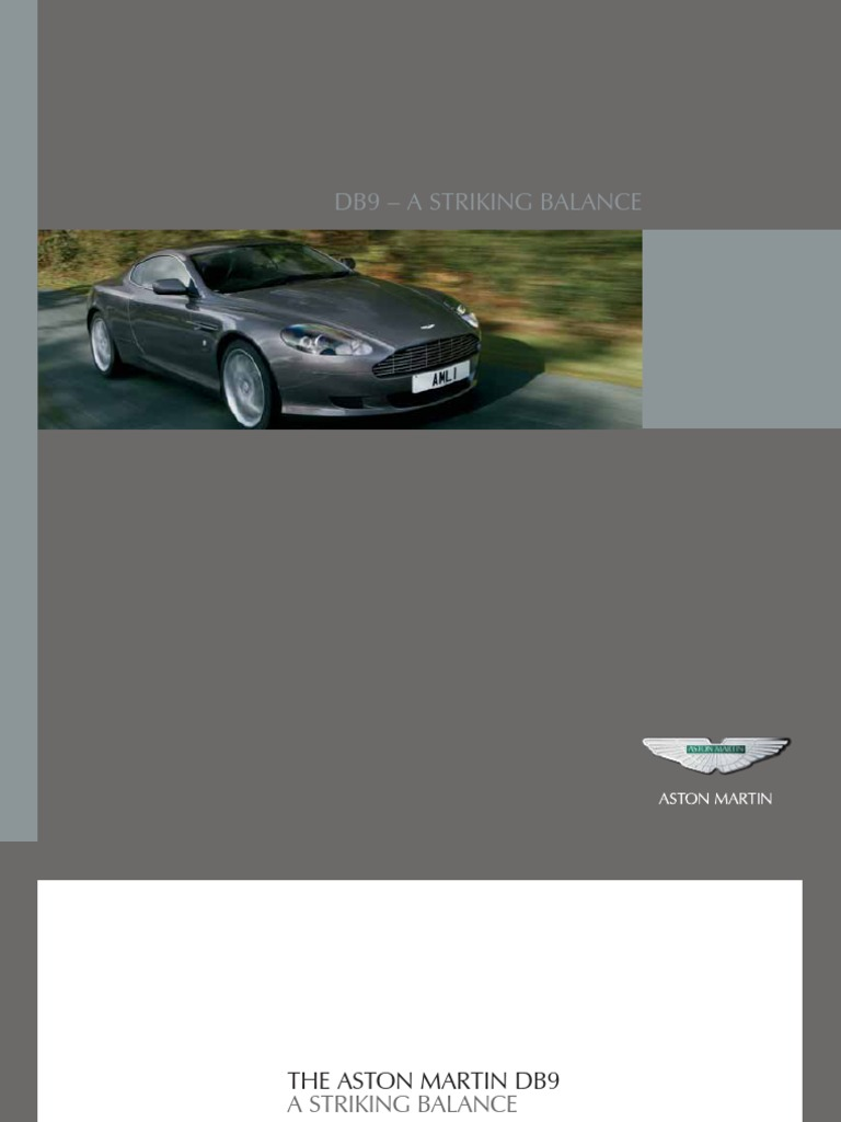 Aston Martin Db9 catalog | Transmission (Mechanics) | Automatic Transmission