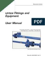 Nuflo Orifice Fittings and Equipment