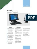 Brochure Thrane TT 3606E