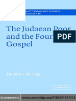 Timothy J. M. Ling - The Judaean Poor and the Fourth Gospel (Society for New Testament Studies Monograph Series) (2006).pdf