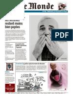 Journal LE MONDE Et Suppl Du Mercredi 3 Octobre 2018