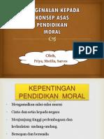 Aliran Pemikiran Moral