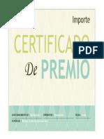 Certificado Plant.