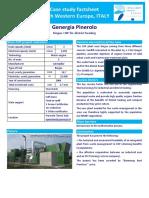 Caso de Estudio - Genergía en Pinerolo, 2004