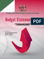 Budget Statement 2019