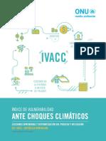 Índice de Vulnerabilidad ante Choques Climáticas