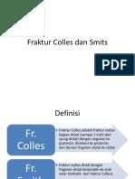 Fraktur Colles dan Smits.pptx