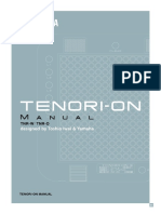 Tenori-On manual