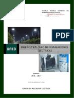 Diseño y cálculo de instalaciones eléctricas Tema 1 (2016)