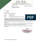 Surat Permohonan Dukungan Dist Polybag