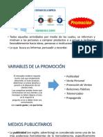 Variable promocion marketing