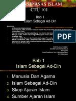 Bab1_Islam Sebagai Ad-Din