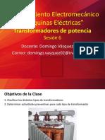 PPT 4 Tipos Transformadores y Mantenimiento.pdf