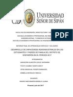 INFORME FINAL DE DESARROLLO DE CAPACIDADES AGROINDUSTRIALES EN LOS ESTUDIANTES Y PADRES DE FAMILIA DEL DISTRITO DE VENTARRÓN EN EL PERIODO 2017..docx