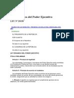 Ley N° 29158 Ley Orgánica del Poder Ejecutivo.pdf