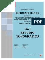 15.1 Estudio Topografico