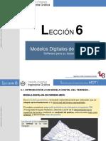 Lección 6.- Software Para Tratamiento de Un MDT I