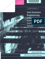 Soil-Structure Interaction for Deep Foundations, Excavations and Tunnels