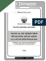 Manual_ddhh_aplicados a La Función Policial