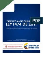 Estatuto Anticorrupcion Ley 1474 2011