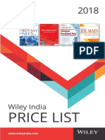 Price ListWILEY