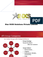 Star INXS Corporate-presentation