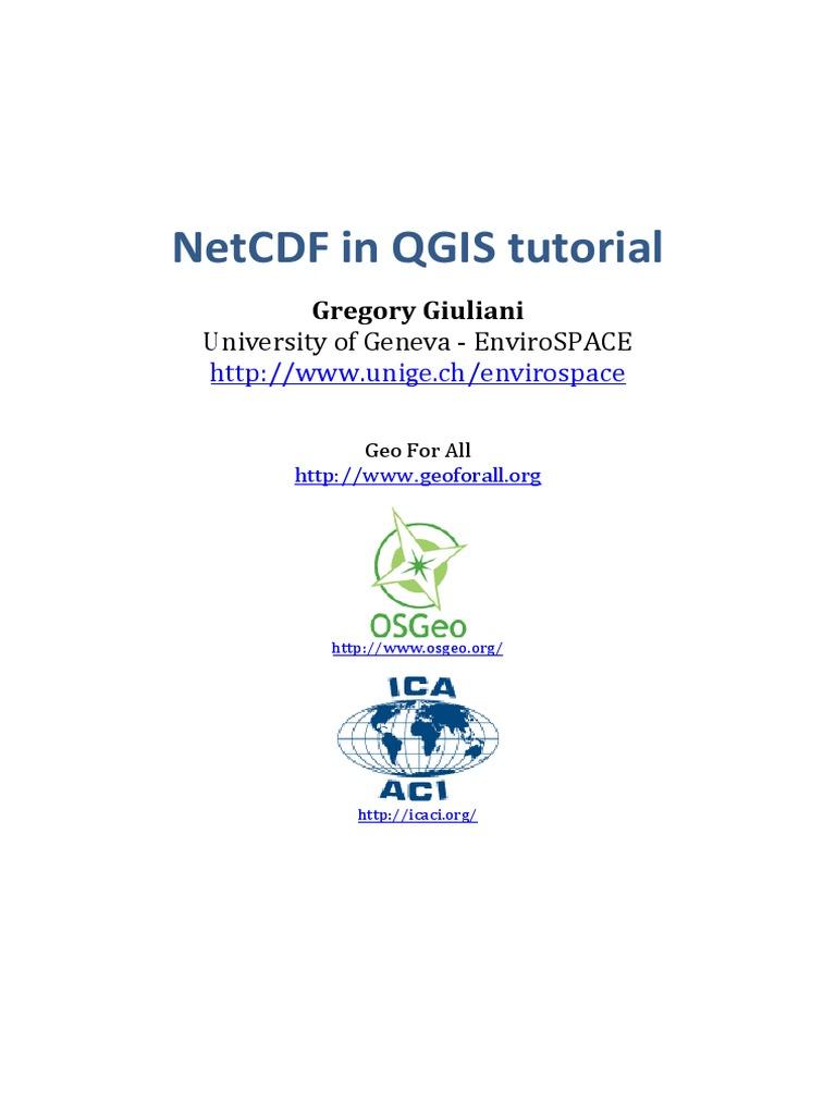 Netcdf Qgis GG | Raw Image Format | Computer Data