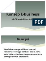 Konsep E-business Part1