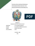 Informe Programa en Excel Para El Diseño Zapatas