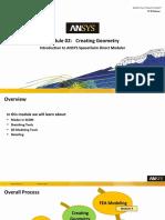 SCDM-Intro 17.0 Module02 Creating Geometry
