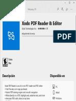 Xodo Editor Instalando