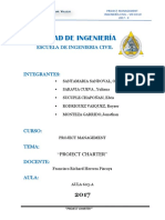 "Trabajo - ""Project Charter Ultimo"""