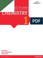 Edexcel Chemistry - Year 1