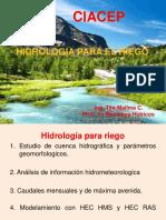 Hidrologia Para El Riego