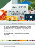 Plasma in Agriculture