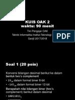 KUIS OAK 2