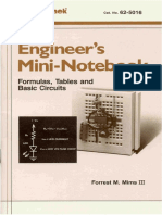 Radio Shack - Mini-Notebook - Formulas Tables Basic Circuits