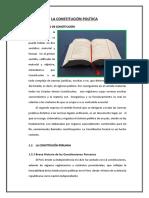 Constitucion de La Republica Del Perú