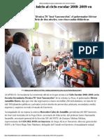 20-08-2018 Héctor Astudillo da inicio al ciclo escolar 2018-2019 en Guerrero.