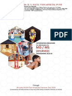 Ayurved PG Brochure DPU 2018