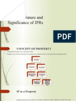 1. Concept , Nature and Significance of IPRs (1).pptx