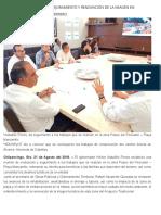 21-08-2018 Continúa el avance del mejoramiento y renovación de la imagen en destinos turísticos de Guerrero.