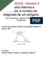 Dica ENEM 2 - Polígonos