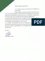 Carta dimisión portavocía de Marina Albiol